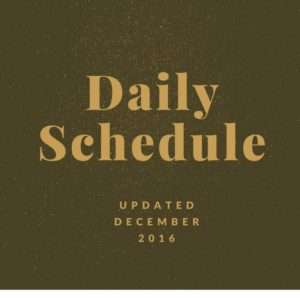 daily-schedule